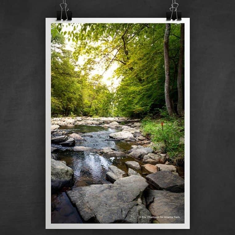 Atlanta Trails Sope Creek Photo Art Print