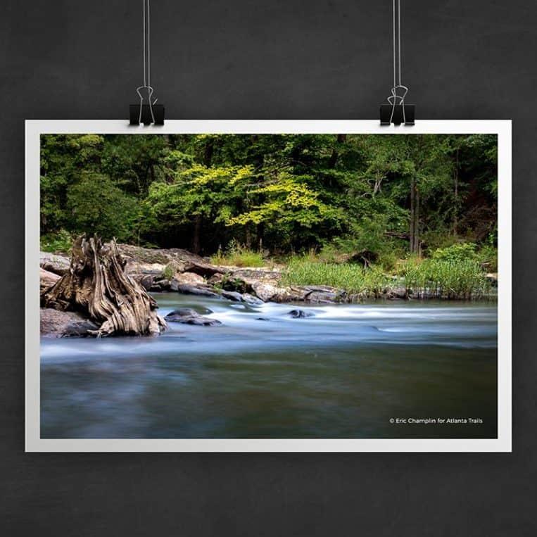 Atlanta Trails Sweetwater Creek Photo Art Print