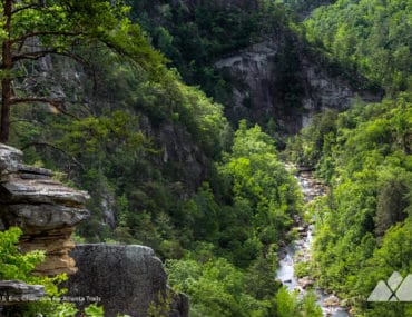 Tallulah Gorge North and South Rim Trails