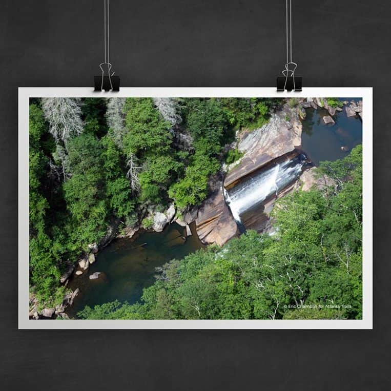 Atlanta Trails Tallulah Gorge Waterfall Photo Art Print