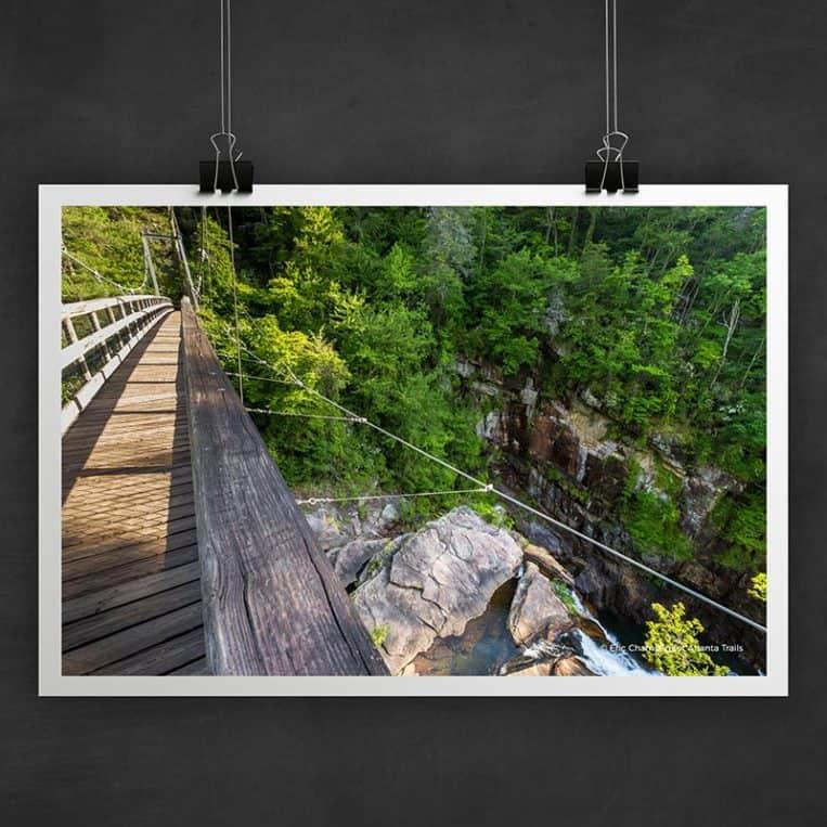 Atlanta Trails Tallulah Gorge Photo Art Print