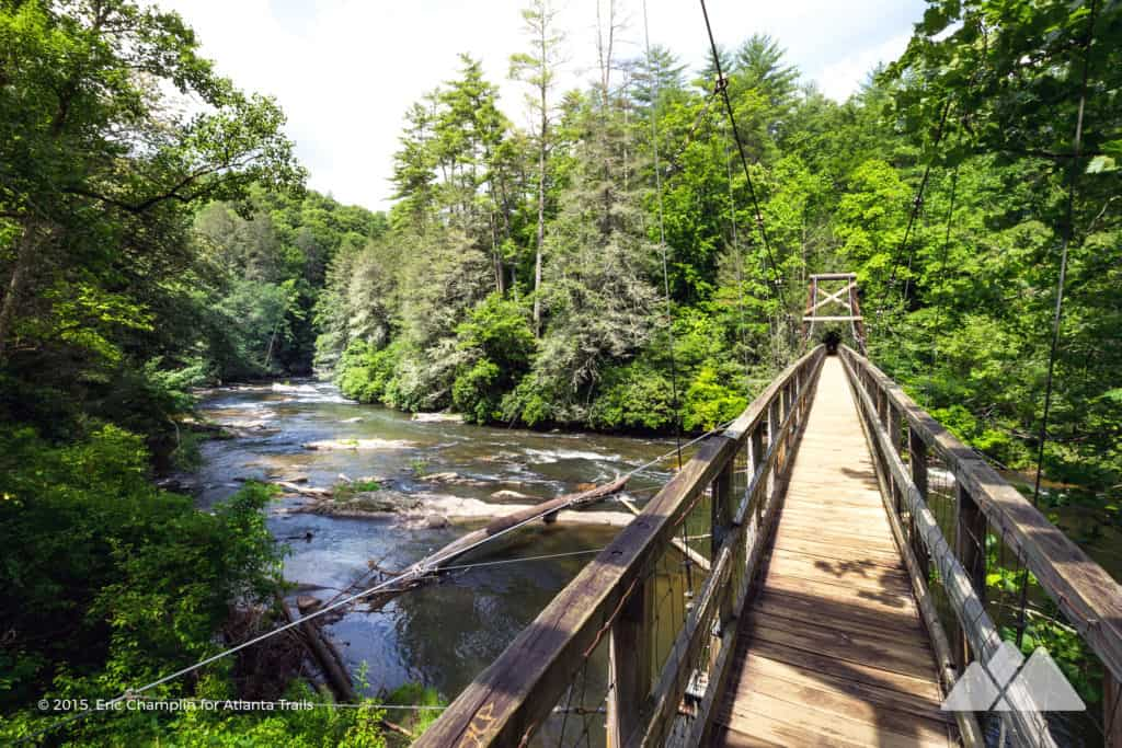 Toccoa River Swinging Bridge
