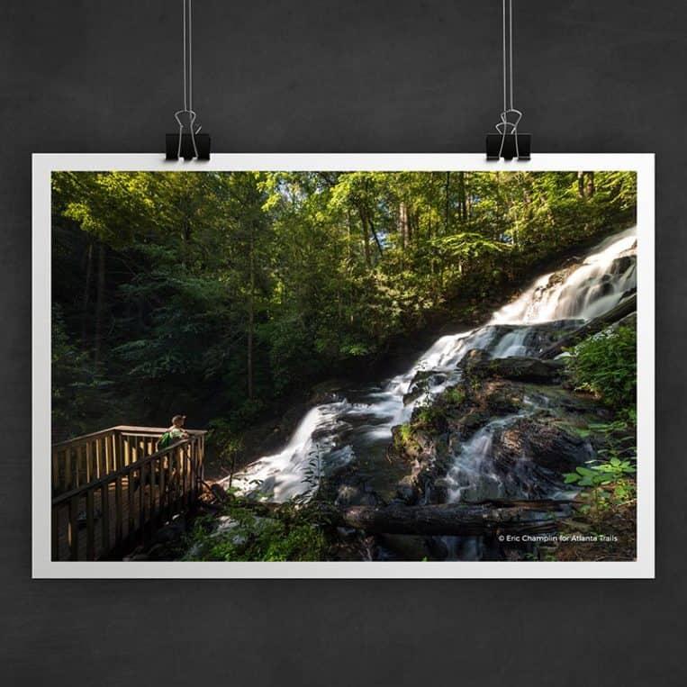 Atlanta Trails Vogel State Park Trahlyta Falls Photo Art Print