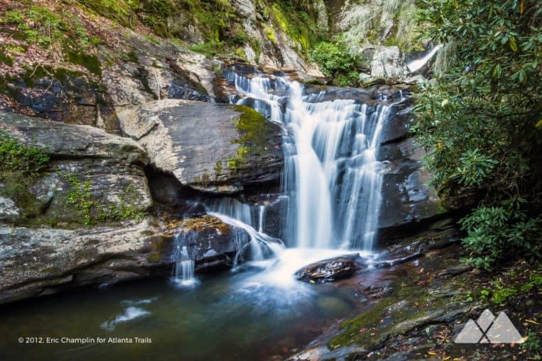 Dukes Creek Falls: top hikes near Hiawassee, GA