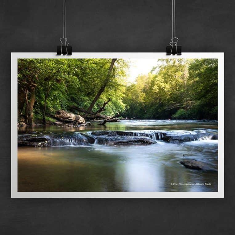 Atlanta Trails Yellow River Photo Art Print
