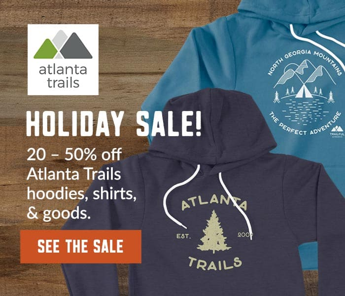 Atlanta Trails holiday sale: shirts, hoodies, prints and goods