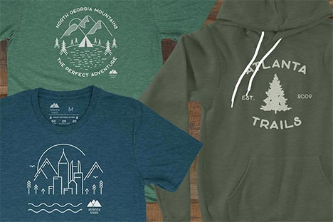 Atlanta Trails Shirts and Merch
