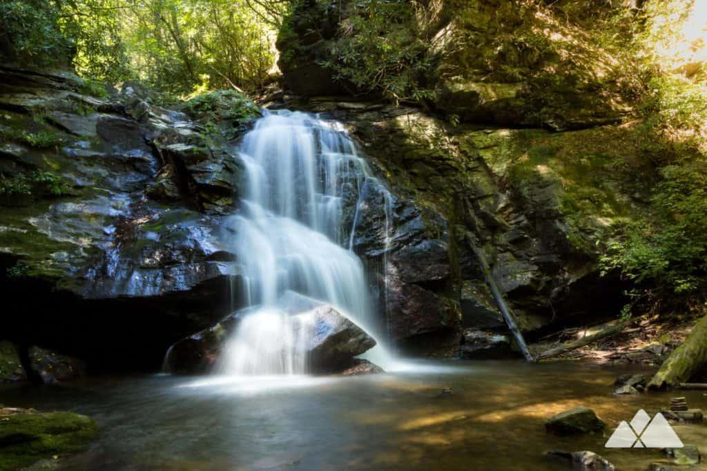 Raven Cliff Trail: a waterfall-filled hike near Helen, GA